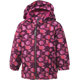 Color Kids Torke AOP Mini Jacket Girls Magenta Purple